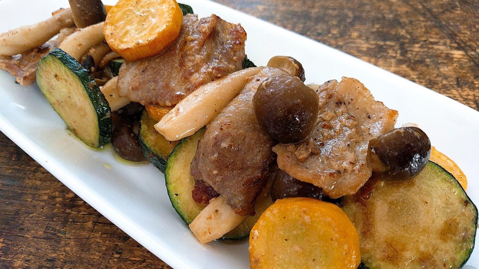 ズッキーニ 豚肉 レシピ