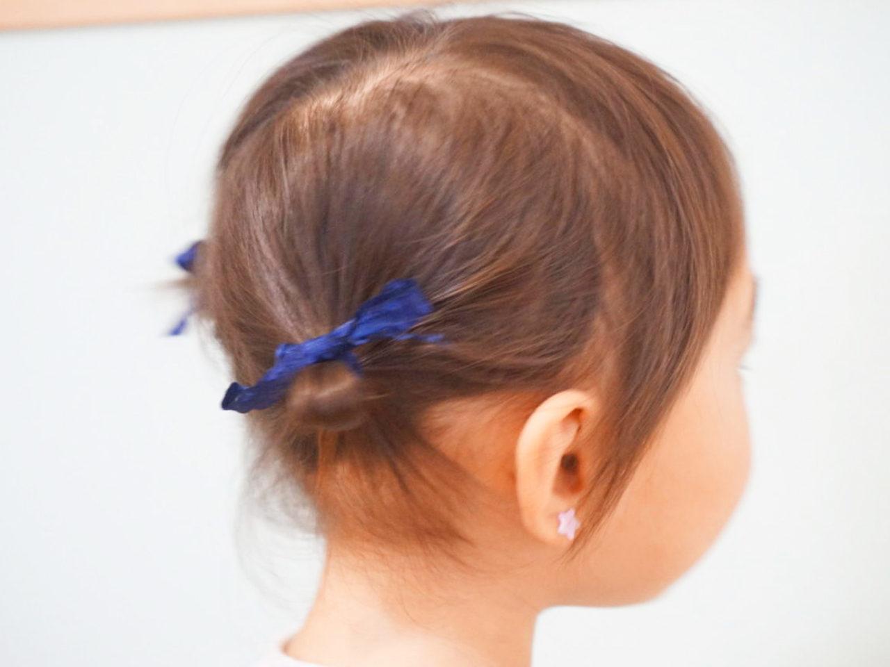歳 女の子 2 髪型