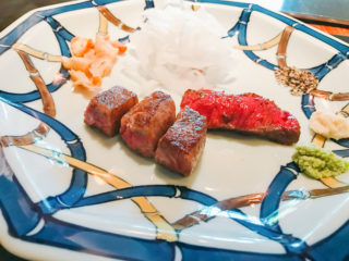 【うかい亭】祝い事にぴったり!父の退職祝いに鉄板料理を味わいました