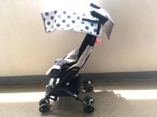 子どもを日差しから守る!3COINSの「ベビーカー用サンシェード」レビュー