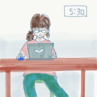 出勤アルバイトと在宅ワーク兼業ママの登園までのスケジュール(繁忙期編)