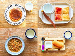 「出すだけで済む」平日のリアルな朝食!これぞ時短朝ごはん!
