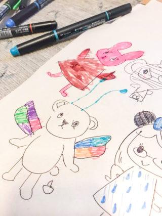 〇〇だけ描く。「描けない!」から娘がお絵描きをグッと好きになった方法