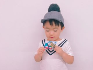 トーマスデザインのQUOカード!3歳息子の反応と使い道をレポート