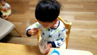 秘策!朝食を早く食べてほしい日の、わが家の特別メニューと声かけ