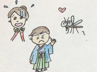 持っていけば良かった「虫よけ」我が家の七五三は蚊で大騒ぎ!