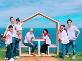 3世代3家族でばぁばの【還暦】を熱海でお祝い。リゾナーレ熱海