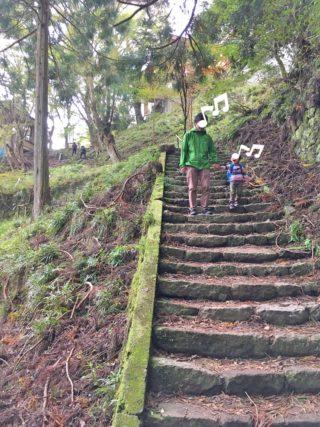 3歳児が登山に挑戦!大山登山編
