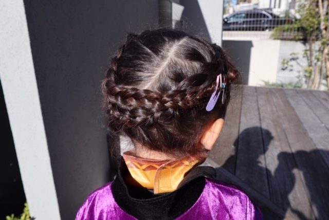 アナ 髪型 子供