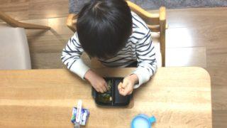 秘策冬版!5歳長男が即完食する即席朝食と声かけ。余ったアレも消費