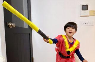 男児の鉄板!棒や剣などの長いモノ「伸びる如意棒」を手作り