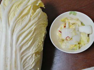 ビニール袋に材料を入れるだけ!白菜で作り置きできる簡単おつまみ