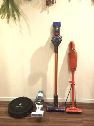 愛用掃除機4つ、こう使い分ける!わが家のお掃除事情を大公開