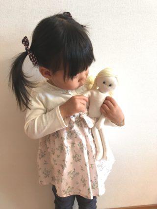 世界に一つのお人形を手作り!手芸屋さんのかわいいキットで