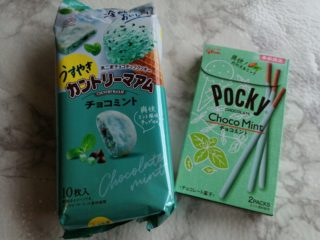 チョコミント好き集まれ~!夏限定のチョコミントお菓子に大興奮♪