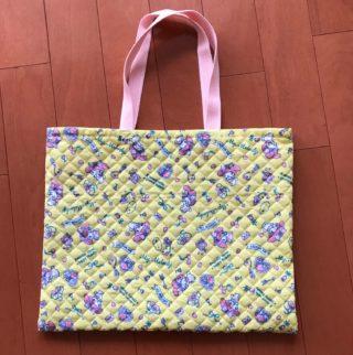 【ダイソー】不器用な私でも300円で手作り手提げバッグが完成!
