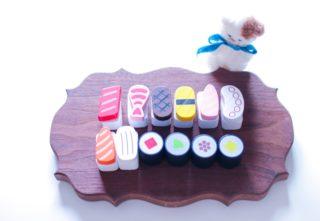 キャンドゥ「木製おままごとセット」第3弾はお寿司屋さんシリーズ!