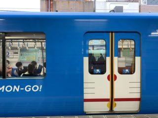 かわいすぎる!西武線にドラえもんのラッピング号が登場!