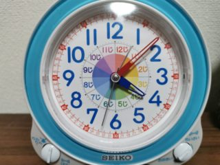 たった3000円で!?子どもに時計を読ませたい!3歳半の挑戦