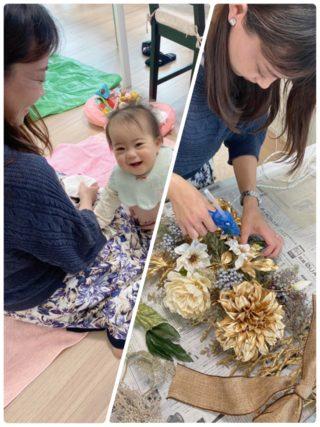【子連れ習い事】赤ちゃん連れでクリスマスリース作りに行ってきました!