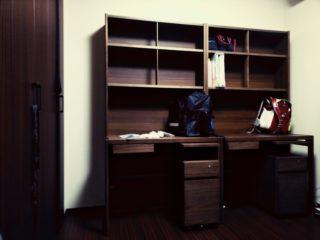 スペースをとらない学習机を兄弟セットで購入!わが家の場合