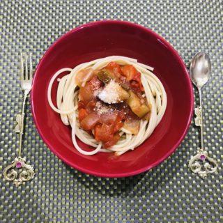 調味料1つ。野菜がたっぷりとれてアレンジ力抜群のラタトゥイユ