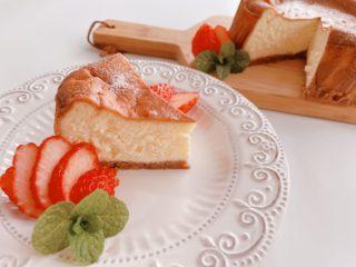 業スーのクリームチーズを1個まるごと使って簡単チーズケーキ作り