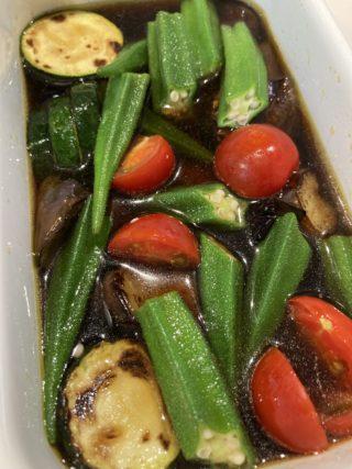 焼いて漬けるだけ!超簡単!子どもも喜ぶ夏野菜レシピ