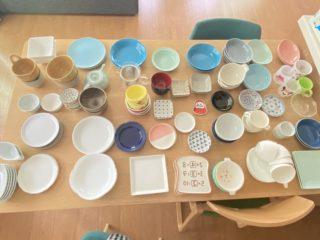 お皿の大量断捨離!残ったお皿の8割は「絶対貰える」あのお皿だった!
