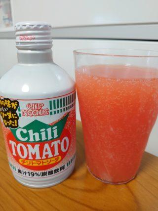 カップヌードルソーダ飲みやすいのはどれ?チリトマトとカレーを飲んでみた