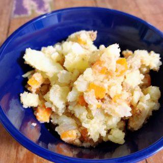 簡単絶品ポテトサラダの作り方。肉じゃがコロッケ風に!?アレを混ぜるだけ